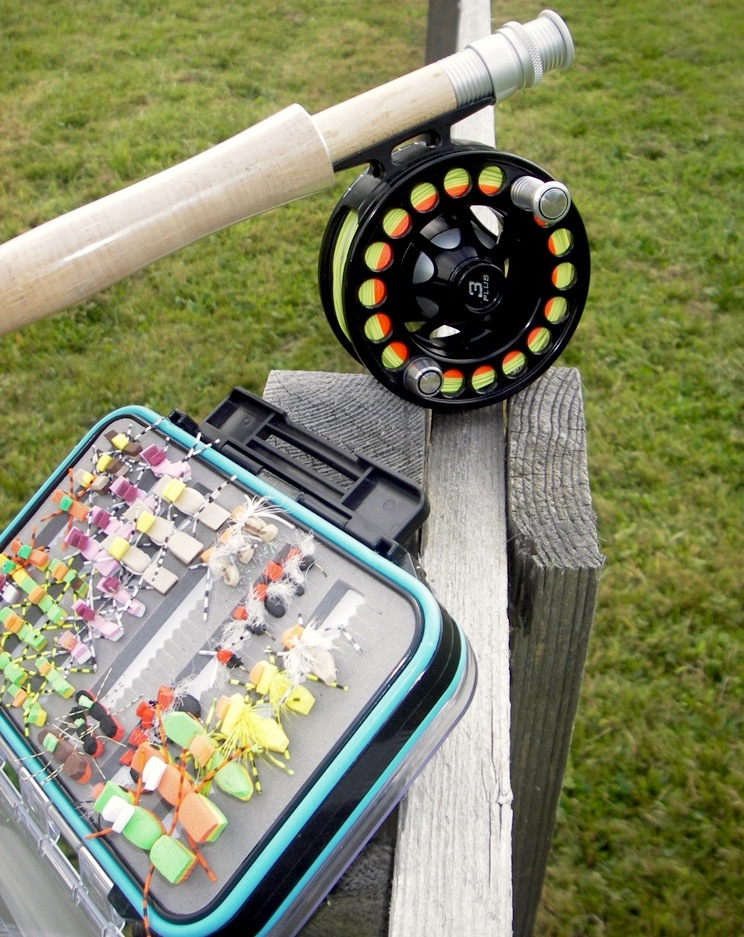 pêche mouche mouching hatch reel moulinet