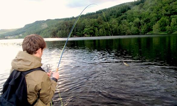 pêche mouche mouching ecosse